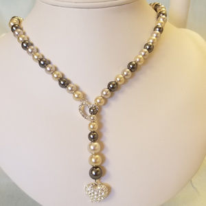 "4/$30 NWT Handmade Lariat Necklace Acrylic 20"""